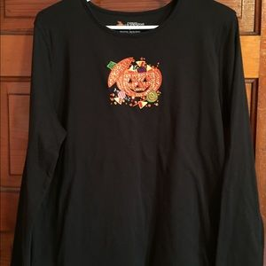Mercer Street Studio Halloween Long-Sleeve Tee